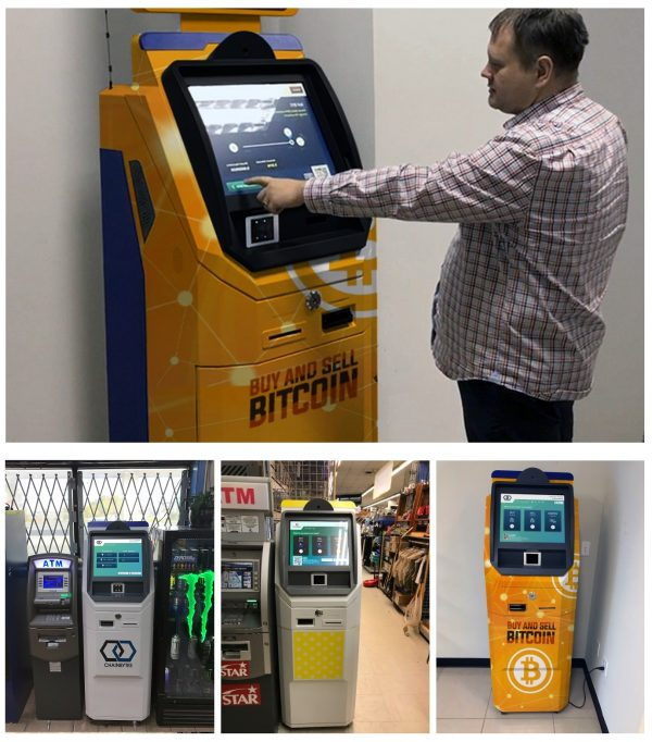 Bitcoin ATM manufactured by ChainBytes buy and sell bitcoin