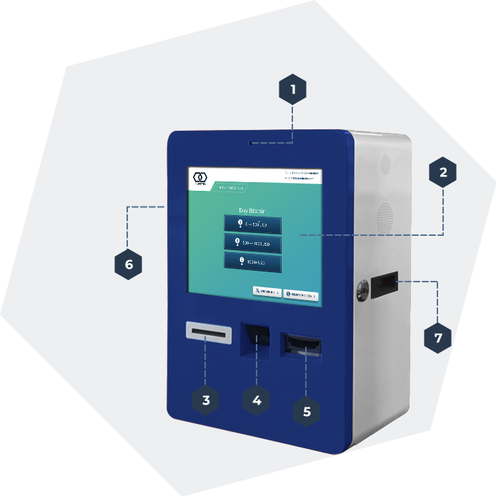CBDesktop 1-way Bitcoin ATM by ChainBytes