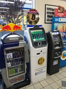 Bitcoin ATM in manufactured by ChainBytes bitcoin ATM company for Bayside