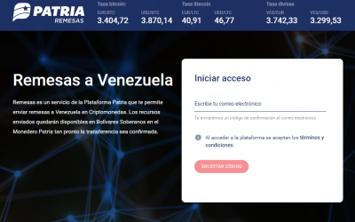 Venezuelan Government Launches State Backed Crypto Remittance Platform