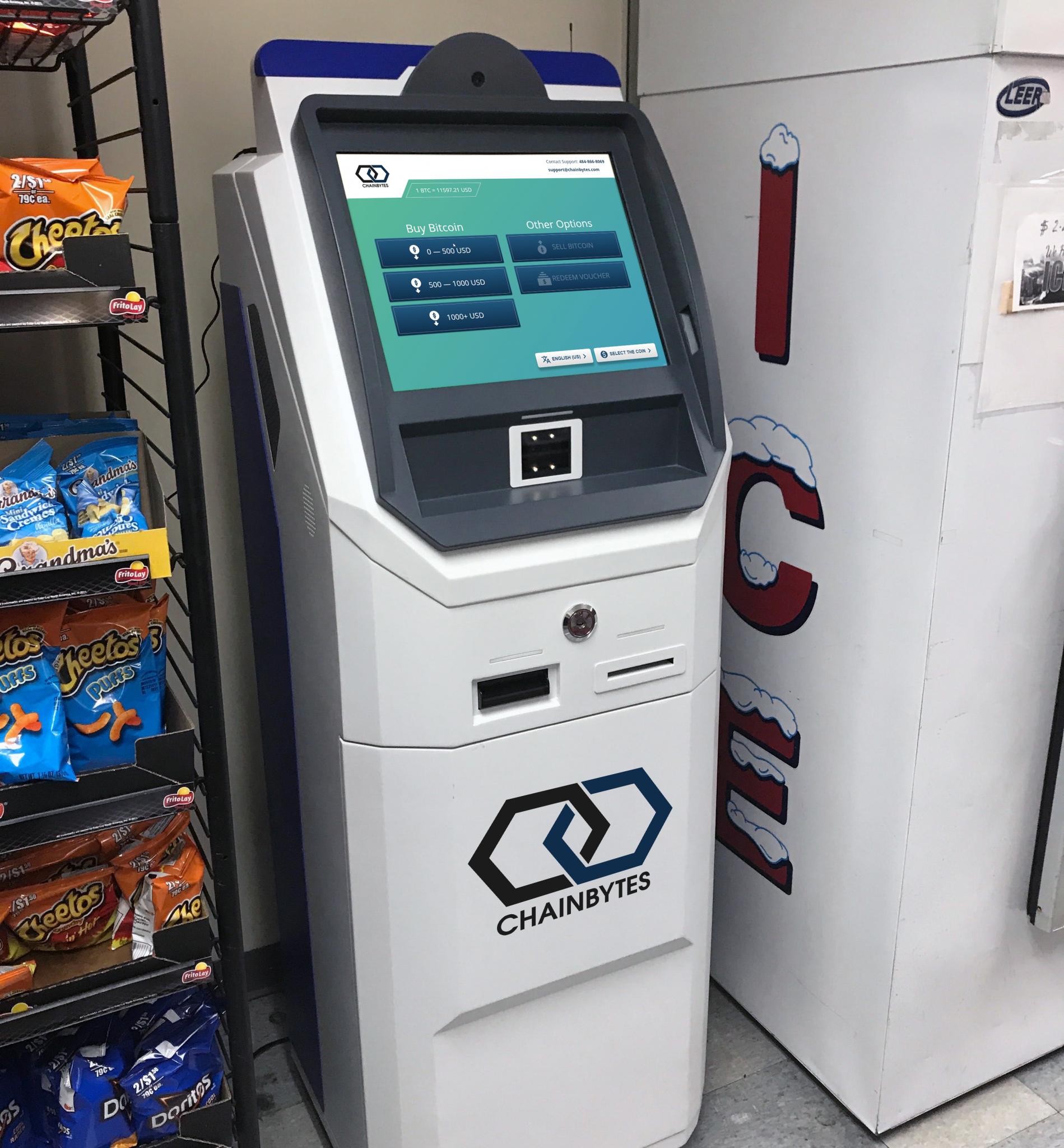 Bitcoin ATM ChainBytes Easton 2-way btm