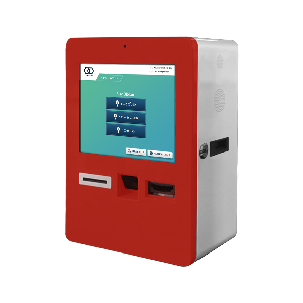 Bitcoin ATM 1-way ChainBytes Desktop Red