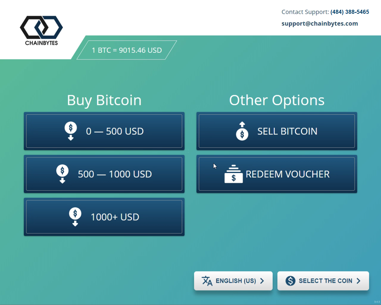 How to use a Bitcoin ATM - How to for beginners | ChainBytes