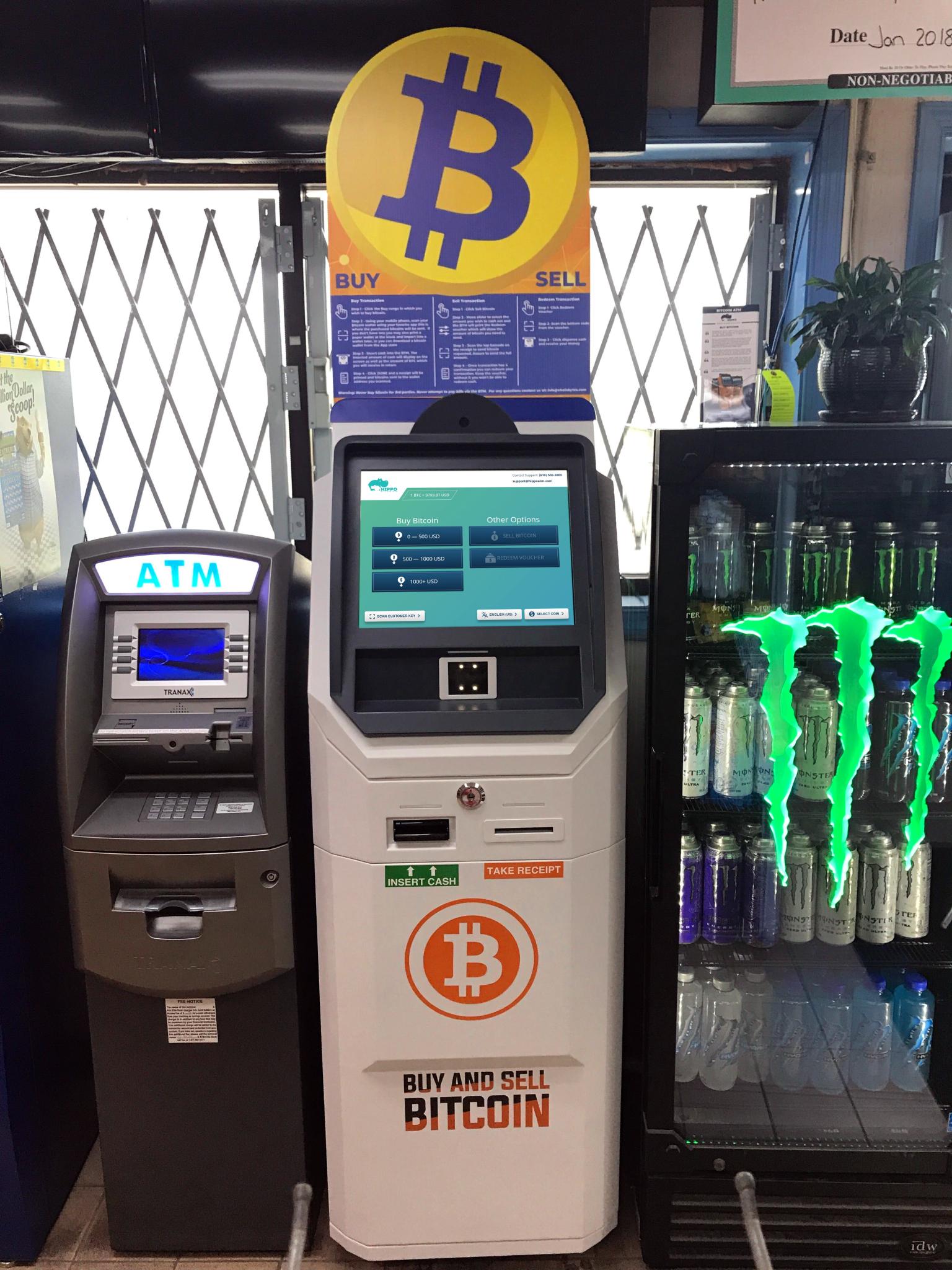 Bicoin ATM Quakertown Food Mart Gas station