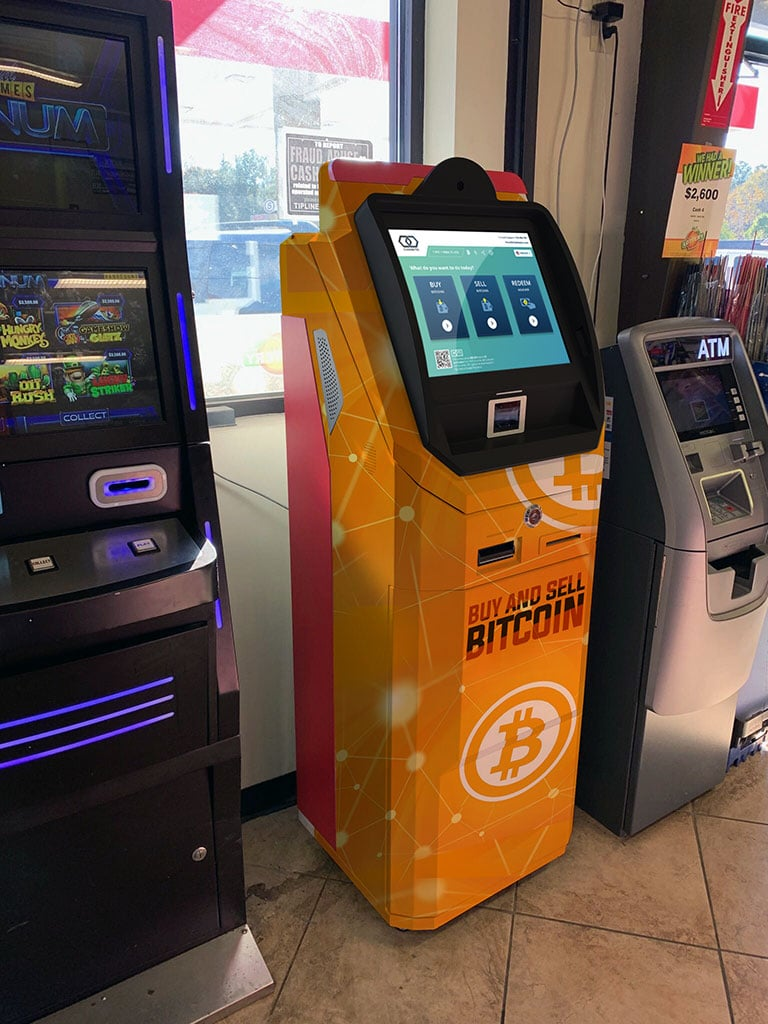 Bitcoin ATM for buying and selling BTC
