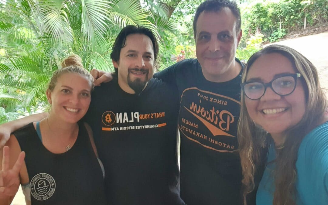 The ChainBytes El Salvador Team in Full Force!