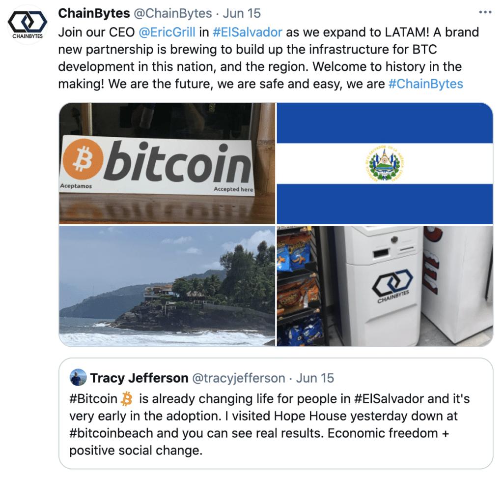 Bitcoin El Salvador Twitter