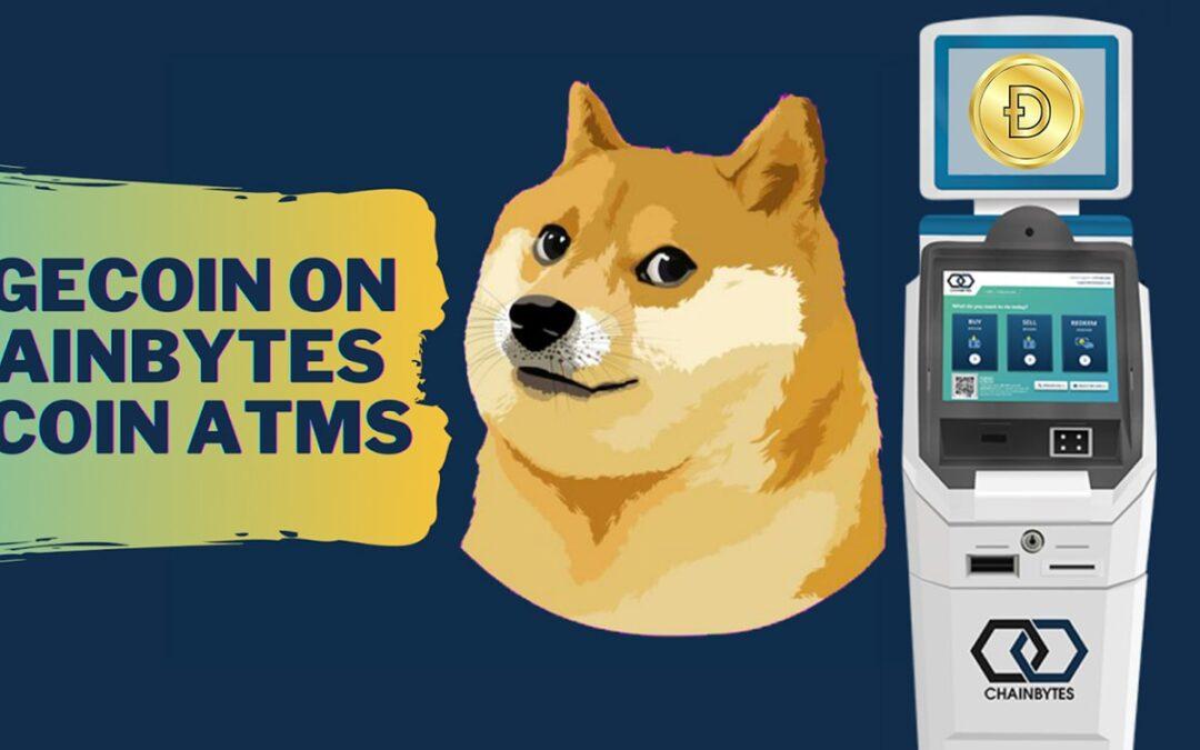 Dogecoin on ChainBytes Bitcoin ATMs