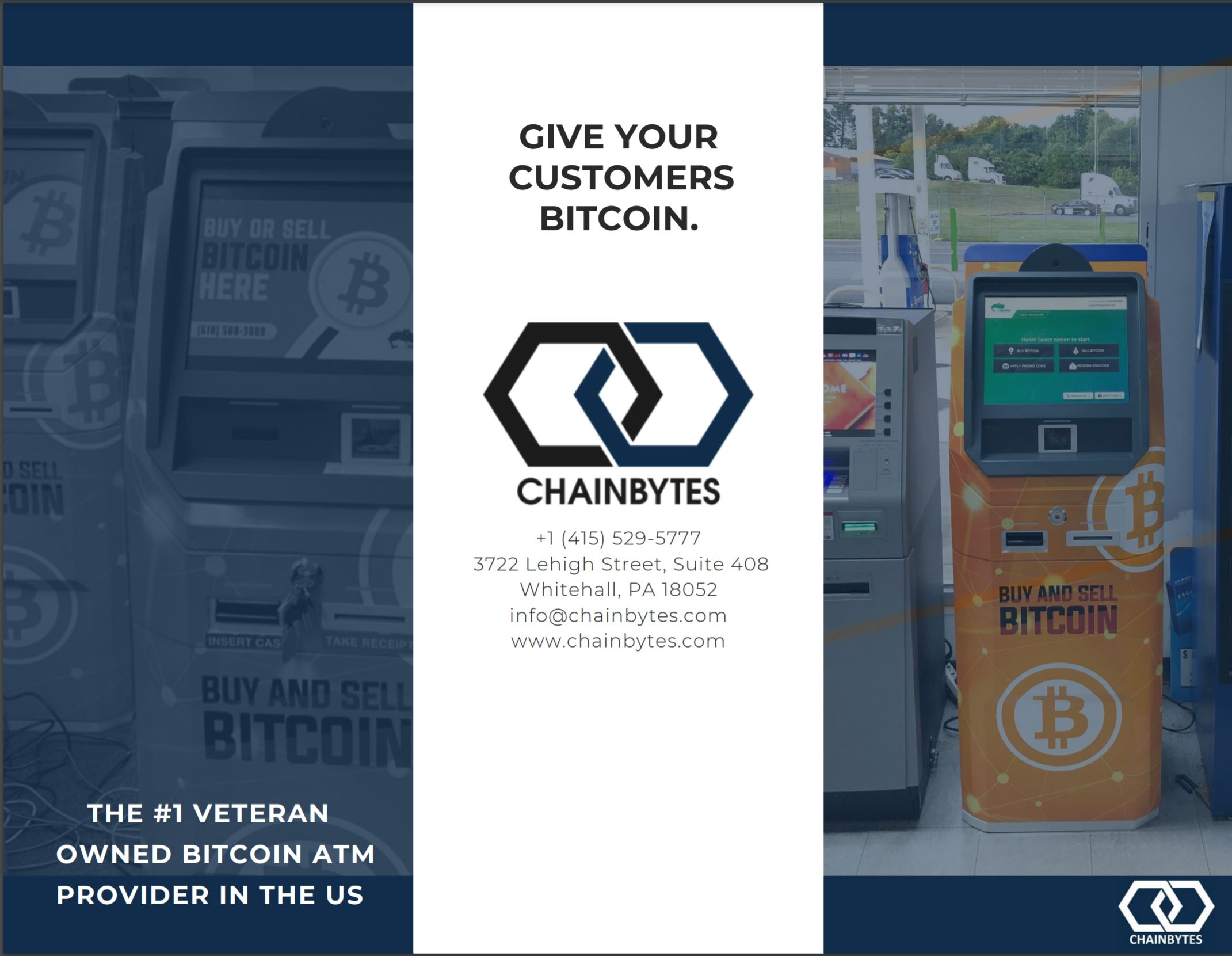 Bitcoin ATM by ChainBytes 2020