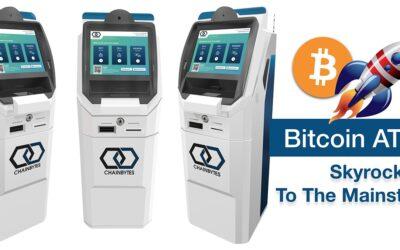 Bitcoin ATMs Skyrocket as Crypto Goes Mainstream