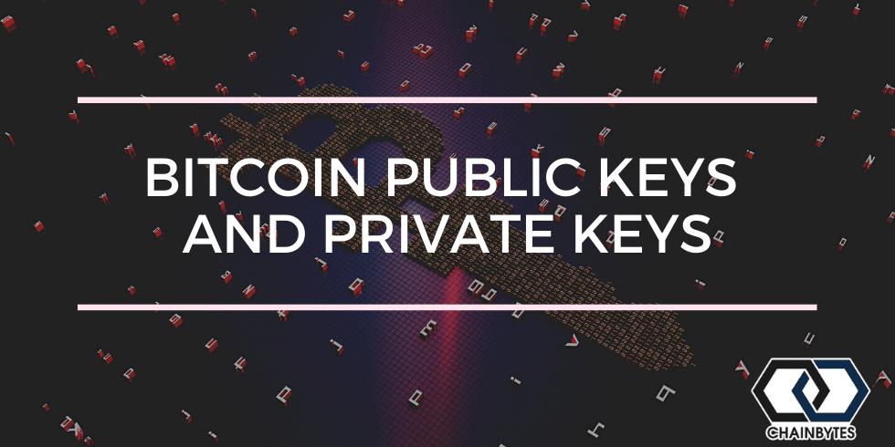 Bitcoin Public Keys And Private Keys